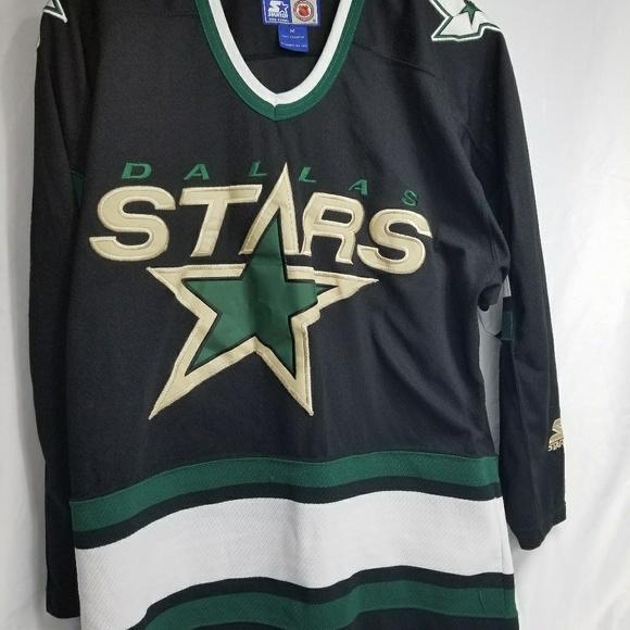 100% authentic dd4fa 6cbac Dallas Stars Vintage Replica Jersey Size Medium